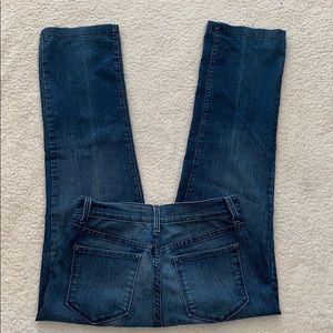 NYDJ Classic Straight Leg Lift Tuck Jeans  Size 4